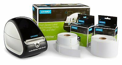 Label Maker Commercial Thermal Printer DYMO LabelWriter 450 Turbo Barcode Create