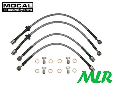 Saab 93 9-3 2.0 Turbo 2002-2011 Ys3F Stainless Steel Brake Lines Hoses Pipes Wa