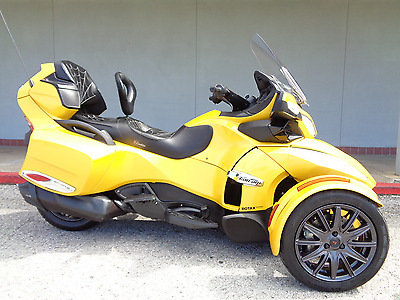 Can-Am Spyder RT-S  2013 Can-Am Spyder RT-S SE5 Touring Financing Trike Shipping