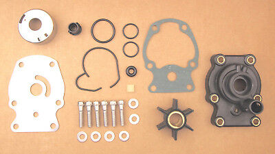 Evinrude Johnson 20 25 30 35 Hp Water Pump Impeller Kit Replaces 393630