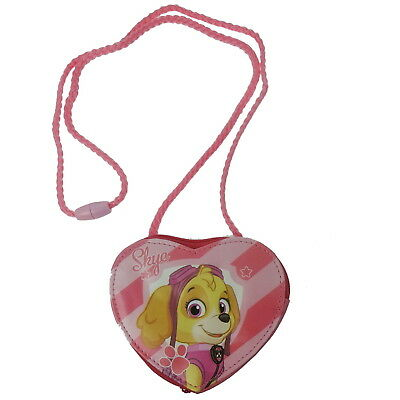 NEW OFFICIAL Paw Patrol Skye Girls Kids Coin Pocket Money Purse