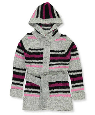Pink Angel Little Girls' Hooded Cardigan (Sizes 4 - 6X)