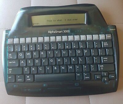 Alphasmart 3000 Portable Keyboard Word Processor