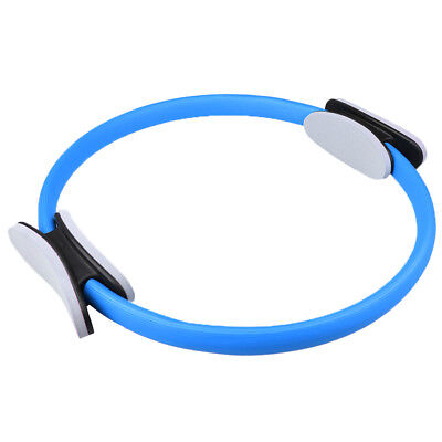 Pilates Ring Magic Circle Dual Grip Sport Yoga Exercise Home Training Blue