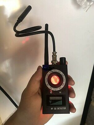Sweeper 1Mhz-8000Mhz Wireless RF Signal Detector Tap Detect Mobile Phones