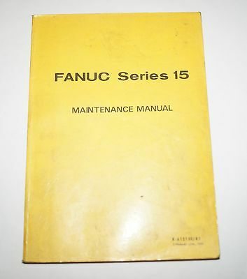 Fanuc AC Series 15 Maintenance Manual B-61215E/01