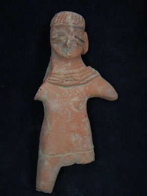 Ancient Teracotta Mother Goddess Indus Valley 600 BC  #TR605