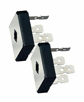 (PACK OF 2) MULTICOMP GBPC2504 BRIDGE RECTIFIER SINGLE 25A 400V GBPC New