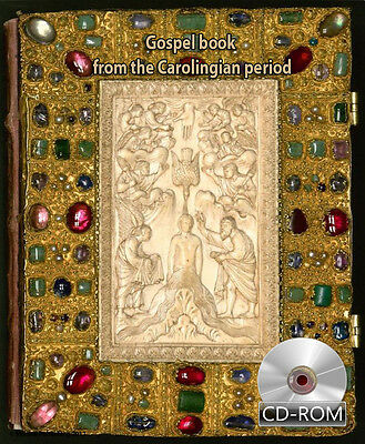 Gospels book from the Carolingian period Around 825 - 850 AD First Ed Digitized