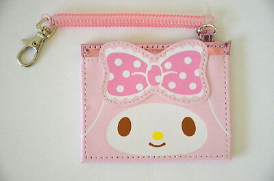 Sanrio My Melody ID Case Card Holder with cord Kawaii Cute NEW From Japan RARE