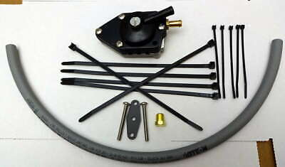Evinrude Johnson Fuel Pump Replacement Kit 2 Cyl 40 50  All Vro Equipped Models