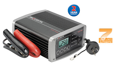 NEW PROJECTA Intelli-Charge Automatic 12V 25A 7 Stage Battery Charger IC2500