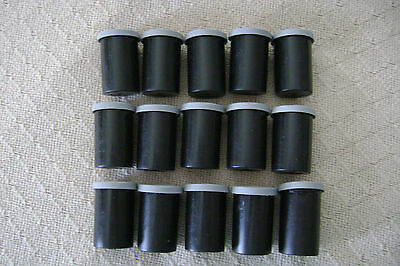 Kodak 35 mm Empty Plastic Film Can Cannister Container - 16 pieces for $8.50