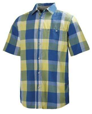 Helly Hansen Jotun Traverse Shirt, Mens, Check Sea Blue, XL