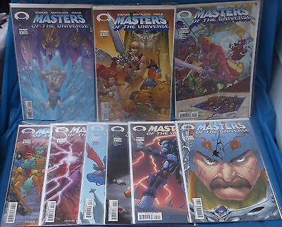 Masters Of The Universe Image Comic Book Lot 1st Series 2A 2B 3A 3B 4A 2nd 5 6