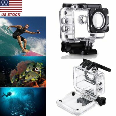 WIFI Action Camera Underwater Diving Waterproof Protective Housing Case US