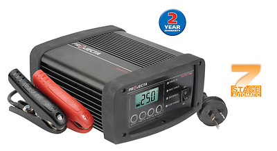 PROJECTA Intelli-Charge Automatic 12V 25A 7 Stage Battery Charger IC2500W