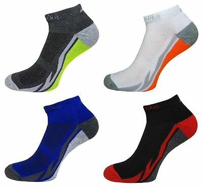 12 Pairs Mens Prohike Cushioned Active Trainer Sports Socks Size 6-11