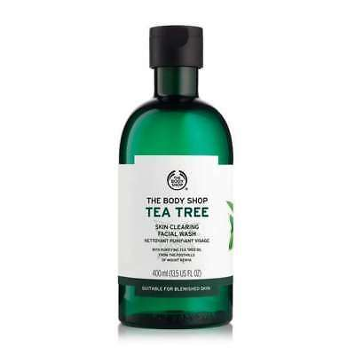 New Vegetarian The Body Shop Tea Tree Skin Clearing Facial Wash