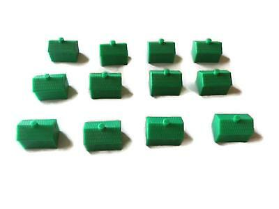 Monopoly Junior Game - 12 x Green Ticket Booths Replacement/Spare Part ONLY