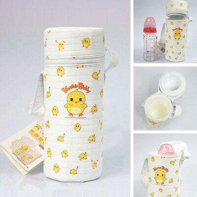 Pouch Milk Baby Holder Warmer Bottle Travel Thermal Insulate Bag Hanging Cover
