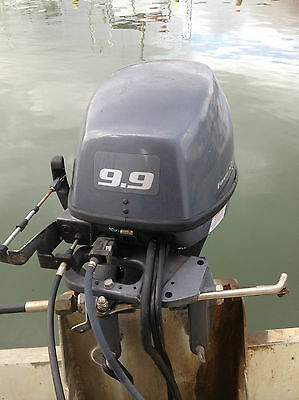 Yamaha 9.9 High Thrust 4 stroke outboard FT9.9 GEPL 2011