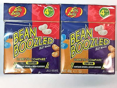 2 x USA Jelly Belly Bean Boozled 4th Edition 45g - bean boozled challenge