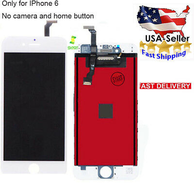 """Black For iPhone6 4.7"""" Replacement LCD Display Screen Touch Digitizer Assembly"""