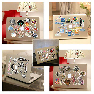 100Pcs Skateboard Vinyl Sticker Skate Graffiti Laptop Luggage Car Bomb Decal NEW