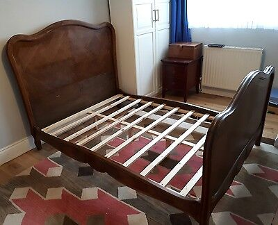 French Bed vintage frame