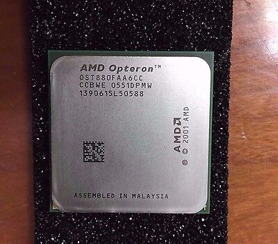 AMD Dual-Core Opteron 880 2.4GHz Processor OST880FAA6CC CCBWE Only processor