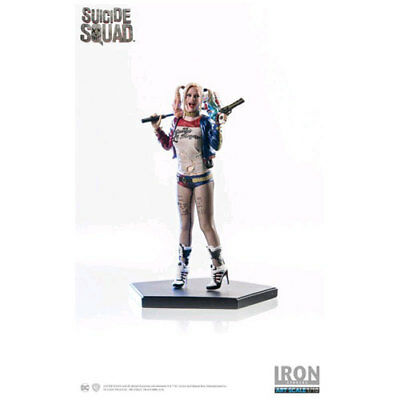 Suicide Squad - Harley Quinn 1:10 Scale Statue NEW Iron Studios
