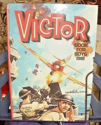 The Victor Book for Boys 1981 VIC16