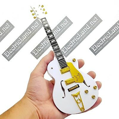 mini guitar Martin Gore DEPECHE MODE white falcon gift idea miniature chitarra