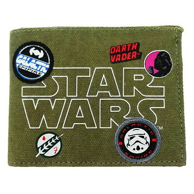 NEW OFFICIAL Star Wars Galactic Empire Boys Kids Coin Pocket Money Wallet