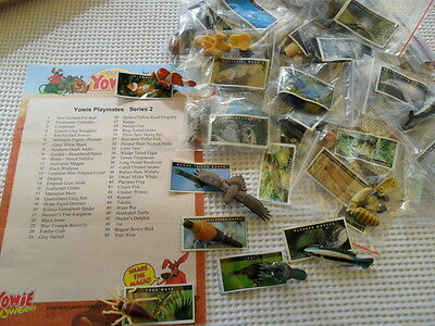 YOWIES SERIES 2 * COMPLETE FULL SET of 50 , QUALITY STANDARD SET NO VARIATIONS