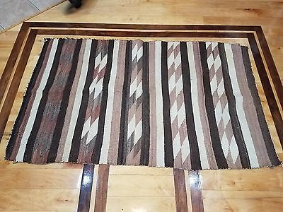 1930's Navajo Double Saddle Blanket