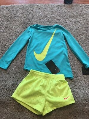 Nike Toddler Girls 3T Workout Dance Cheer Gymnastics Outfit