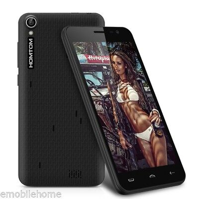 """Homtom HT16 5.0"""" 3G Smartphone Android 6.0 MTK6580 Quad Core 1.3GHz 8GB Unlocked"""