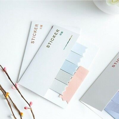 TECH 10 PCS Fantastic Gradient Color Self Adhesive Memo Pad N-times Sticky Note