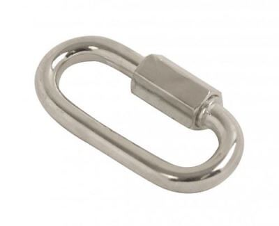 Quick Link 1/4 Inch(M6) BZP Pack Of 100