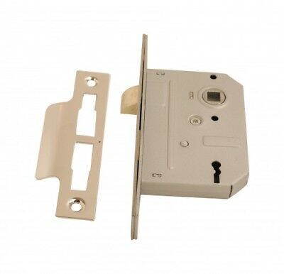 Sashlock 3 Lever (2 Keys) 2.5 Inch CP Pack Of 1