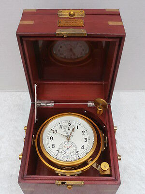 Russian Marine Chronometer  -  Watch Clock Marine Clock Deckwatch
