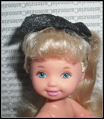Nude Kelly Mattel Evening Recital Long Blonde Blue Eyes Doll For Ooak & Diorama