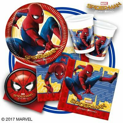 spiderman homecoming party decorations tableware plate happy