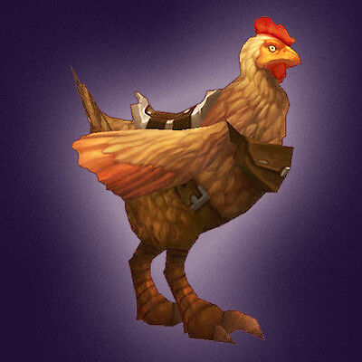 Magic Rooster Egg ✯ Wow ✯ mount ✯ US