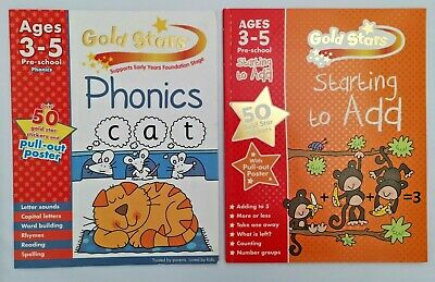 Goldstars Pre-school Learning pack (Set of 6 books) NEW EDITION