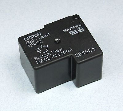 1pc Omron General Purpose Relay, G8P-1A4P-12VDC 30A 250VAC