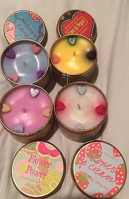 4 Bomb Cosmetics Lush Smelling Candle Smells 45 Hour Burning Time New Valentine