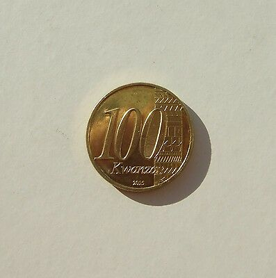 lp ANGOLA - 2015 - 100 Kwanzas - 40th Anniversary of Independence